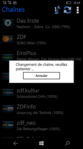 den tv remote app windows phone